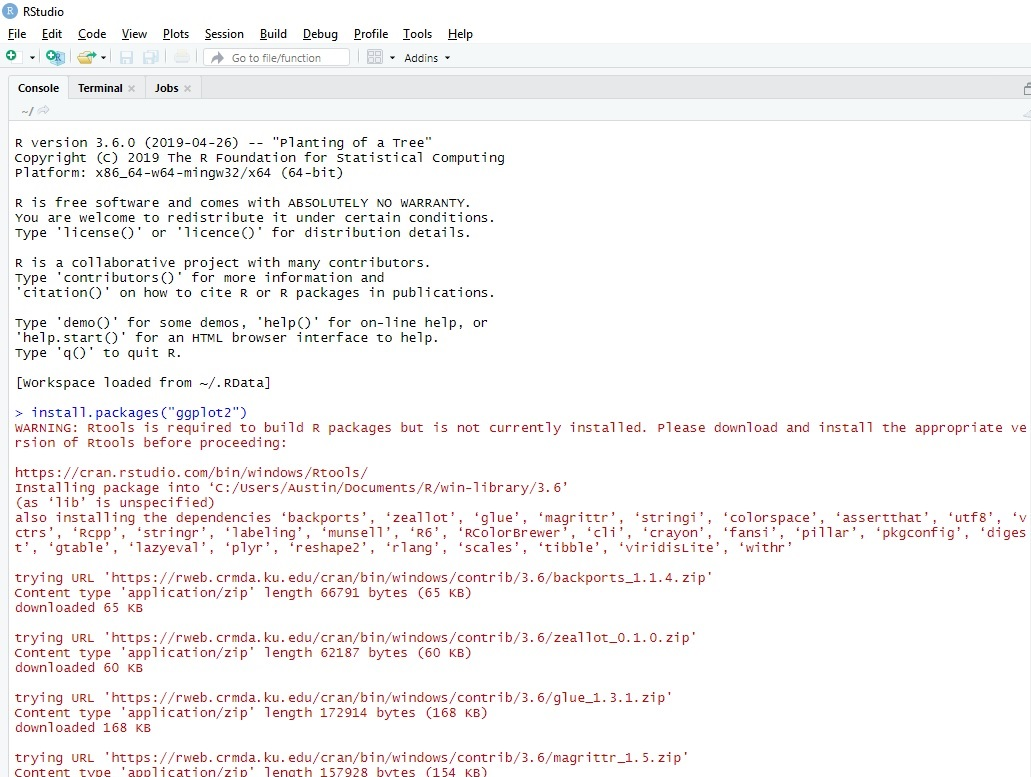 R and RStudio Install: The User Experience, Part 3 - An